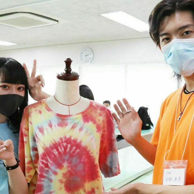 東京服飾専門学校 来校型オープンカレッジ  WORKSHOP 11