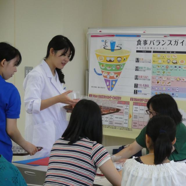 淑徳大学 オープンキャンパス(看護栄養学部)4