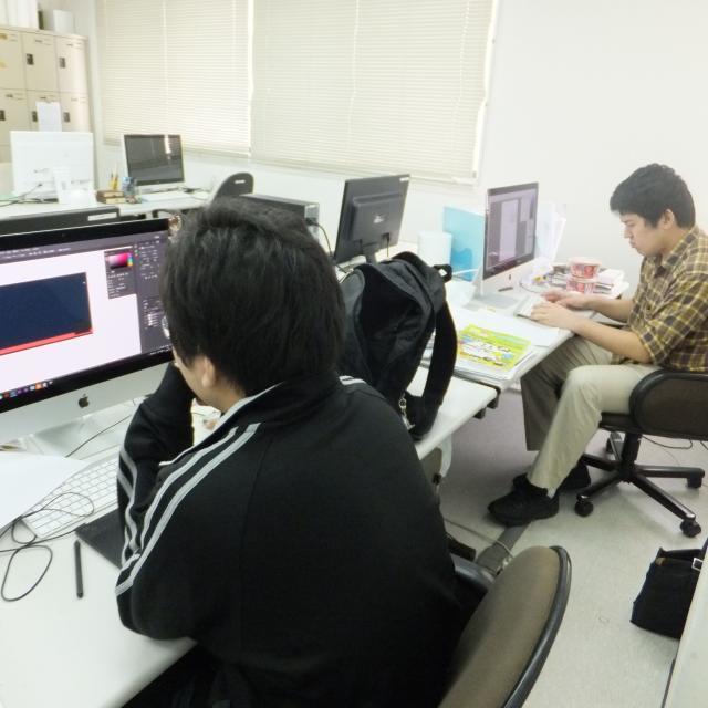 CGコースでイラスト講座・ゲームのエフェクト効果を体験しよう!