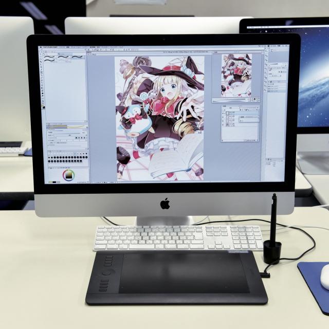 あいち造形デザイン専門学校 D:コミックアートコース<デジタルイラスト>1