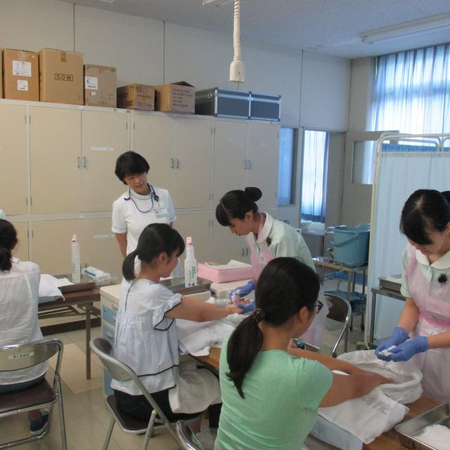 近畿大学附属看護専門学校 平成30年度オープンキャンパス2