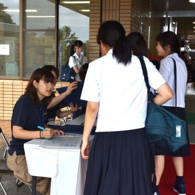 宮崎産業経営大学 秋のオープンキャンパス4