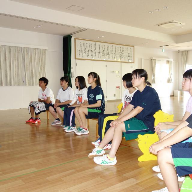 弘前厚生学院 保育のおしごと体験4