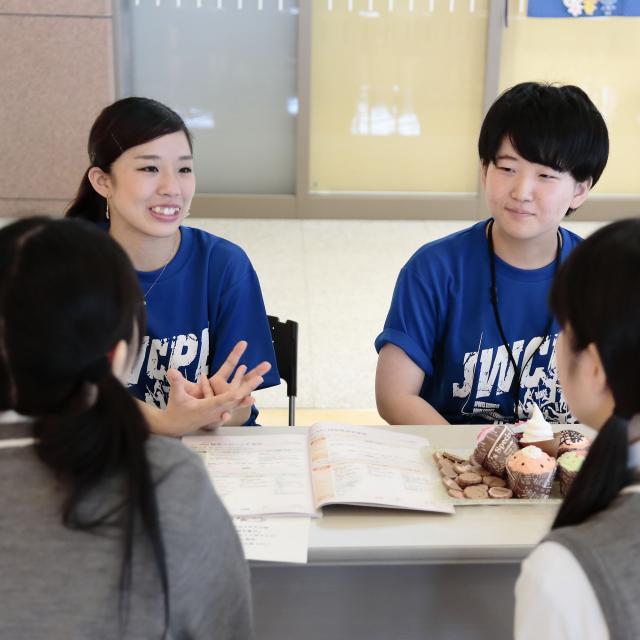 日本女子体育大学 進学相談会 in 学園祭3