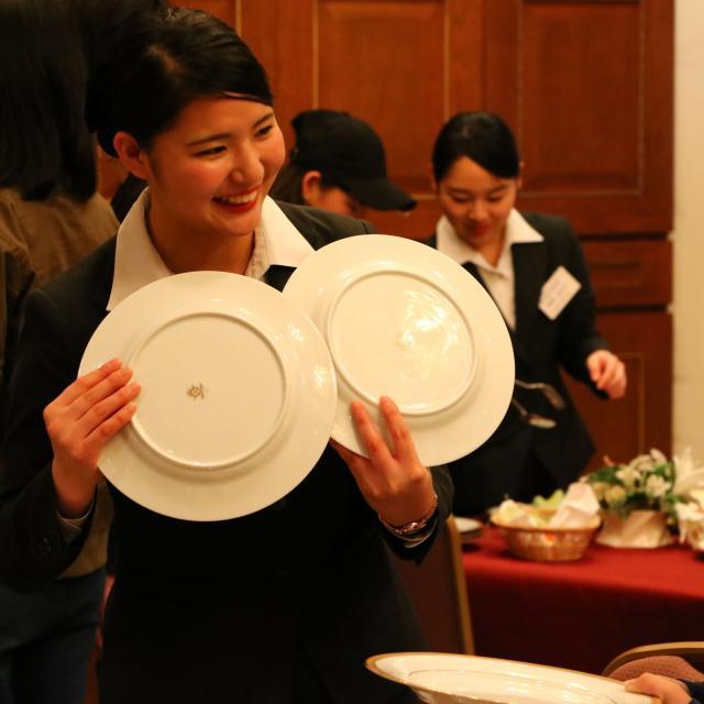西鉄国際ビジネスカレッジ 神対応溢れる!ホテル&ブライダル業界のサービス体験3