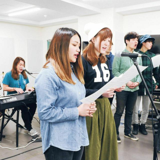 尚美ミュージックカレッジ専門学校 【ヴォーカル学科】プロのヴォイストレーニングを体験!2