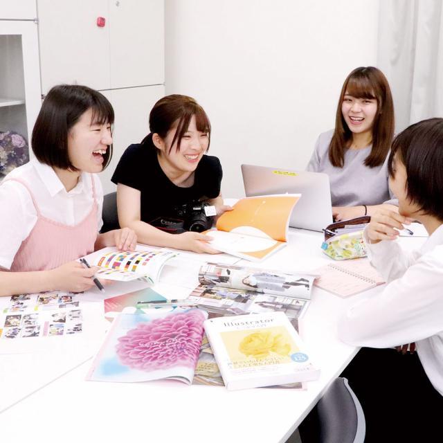 専門学校 九州スクール・オブ・ビジネス 9月の体験入学(マスコミ広報)1