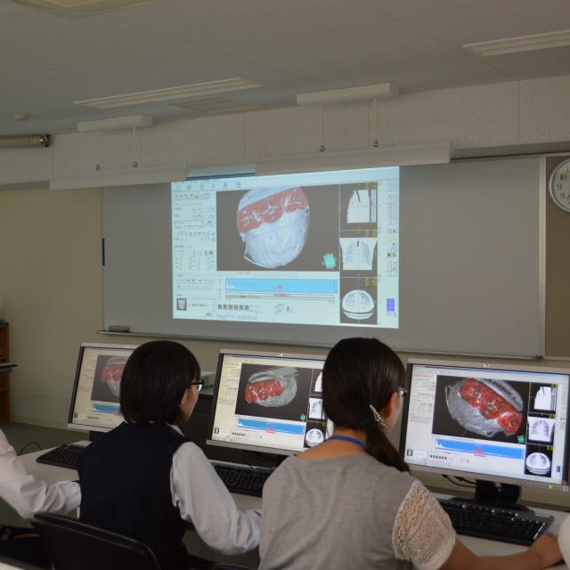 オープンキャンパス(対象:診療放射線学科)