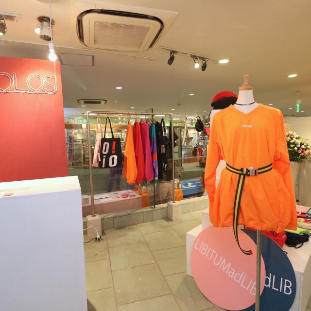 大阪文化服装学院 在学中にショップ運営 マイショップ企画2