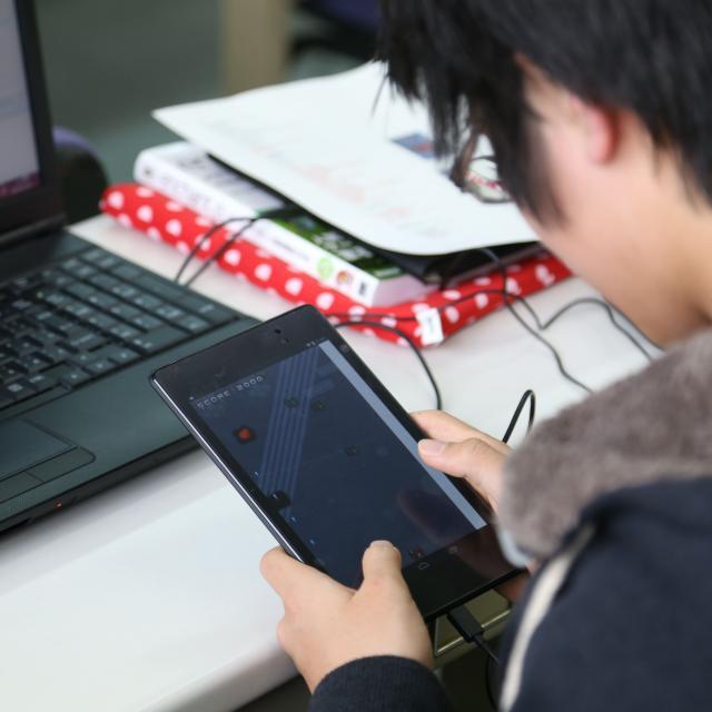 長野平青学園 アプリを作ってみよう!【ICTシステム・デザイン科】1