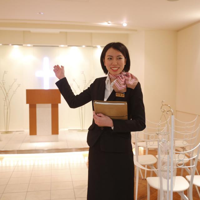札幌観光ブライダル・製菓専門学校 憧れの結婚式!ブライダルプランナー、コーディネーター体験☆3