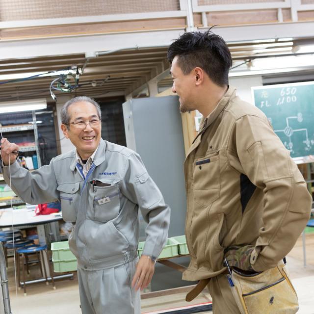 九州電気専門学校 夜の学校説明会4