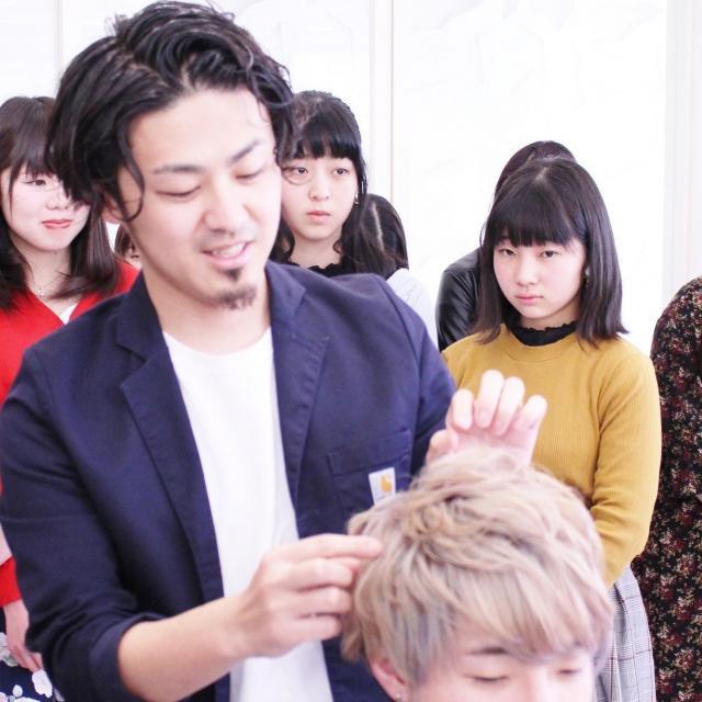 明星国際ビューティカレッジ 春休みイベント!美容師のお仕事体験セミナー1