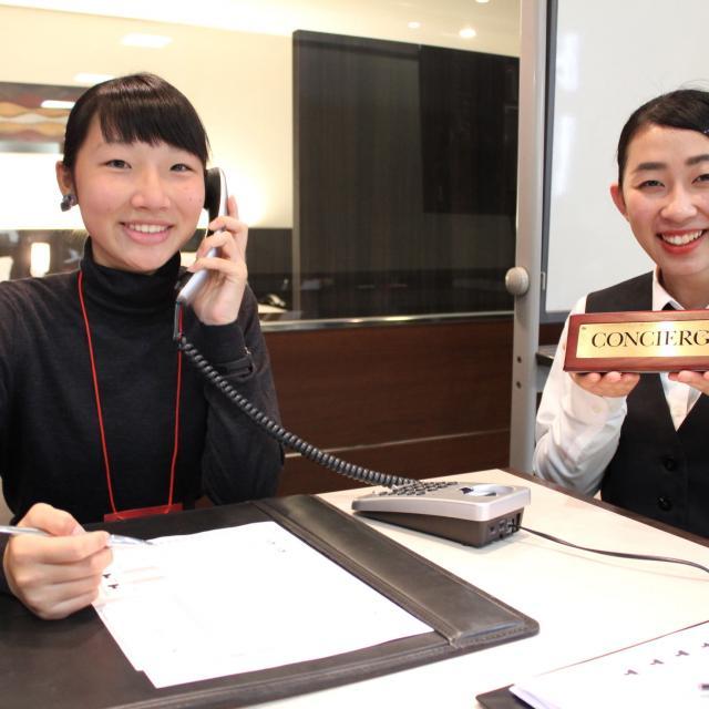 大阪ホテル専門学校 【海外ホテル】職業なりきり体験オープンキャンパス3