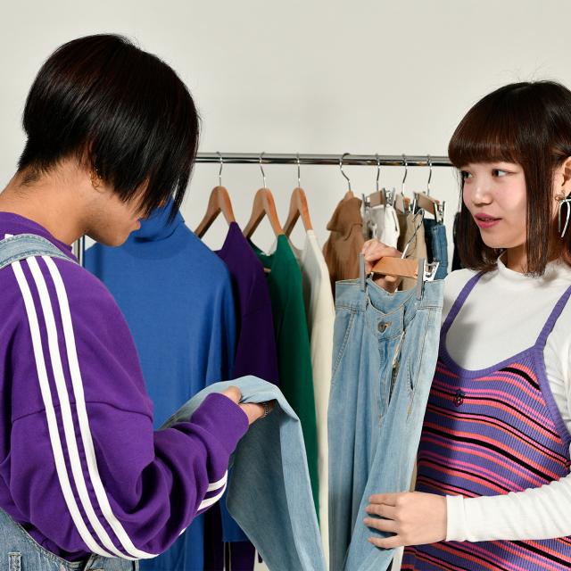 織田ファッション専門学校 ショップスタッフ体験1