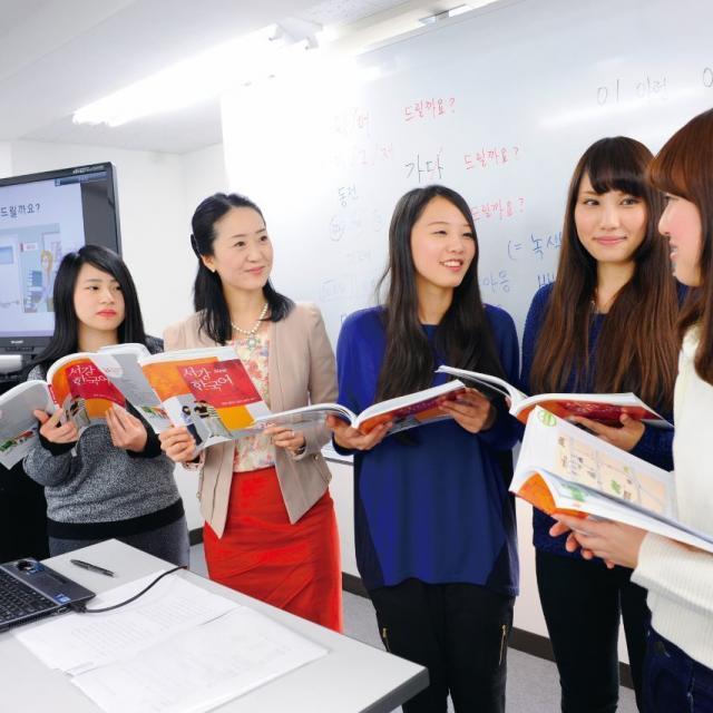 日本外国語専門学校 韓国フェア ~大好きな韓国と韓国語にたっぷりふれる1日~1