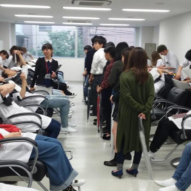 国際文化理容美容専門学校渋谷校 学校見学会4