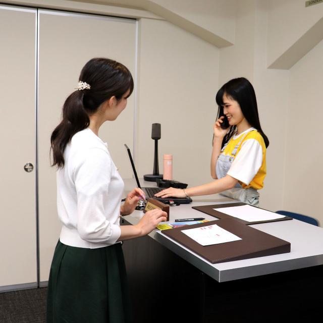 日本デザイン福祉専門学校 8/26(月)ホテルのお仕事体験1