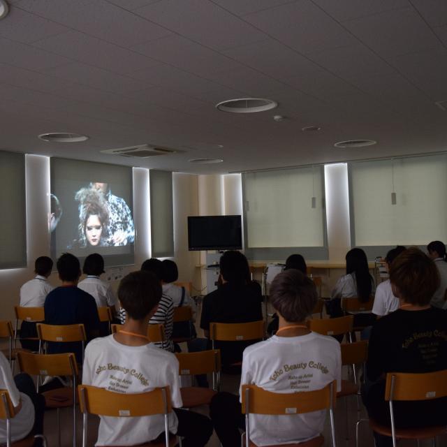 専門学校東萌ビューティーカレッジ サイタマニアによるヘアショー3