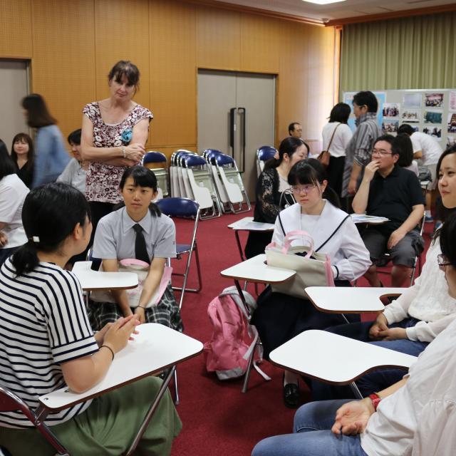 鹿児島純心女子大学 キャンパス見学会1