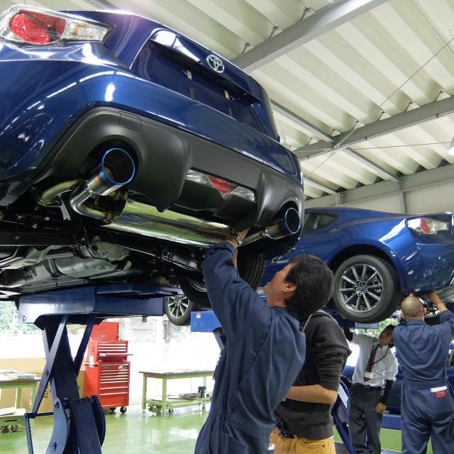専門学校 つくば自動車大学校 tact オープンキャンパス2018【スペシャルDAY】3