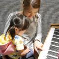 大阪健康ほいく専門学校 音楽って楽しい♪ピアノ体験