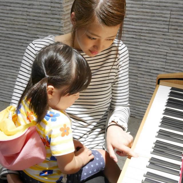 音楽って楽しい♪ピアノ体験