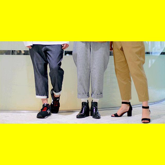 マロニエファッションデザイン専門学校 テーパードパンツ制作体験1