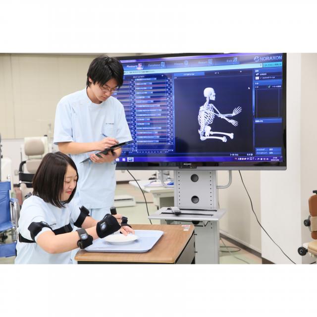 【作業】3次元動作解析装置「マイオモーション」を体験しよう