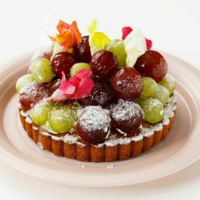 大阪調理製菓専門学校 【製菓】葡萄のタルト体験コース1