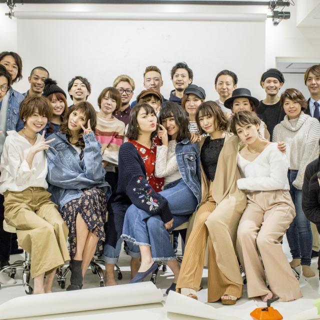 専門学校東萌ビューティーカレッジ サイタマニアによるヘアショー1