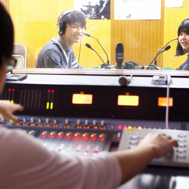 経専音楽放送芸術専門学校 ラジオスタジオ業界体験!ラジオ番組スタッフ体験3