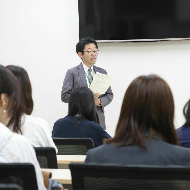 東京立正短期大学 オープンキャンパス <模擬授業があります>3