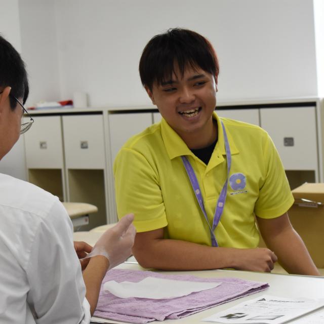 専門学校 琉球リハビリテーション学院 オープンキャンパス:作業療法学科1