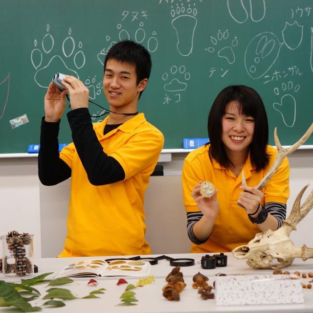 神戸動植物環境専門学校 【I:野生生物調査員★体験】野生生物や自然環境を守る仕事!1