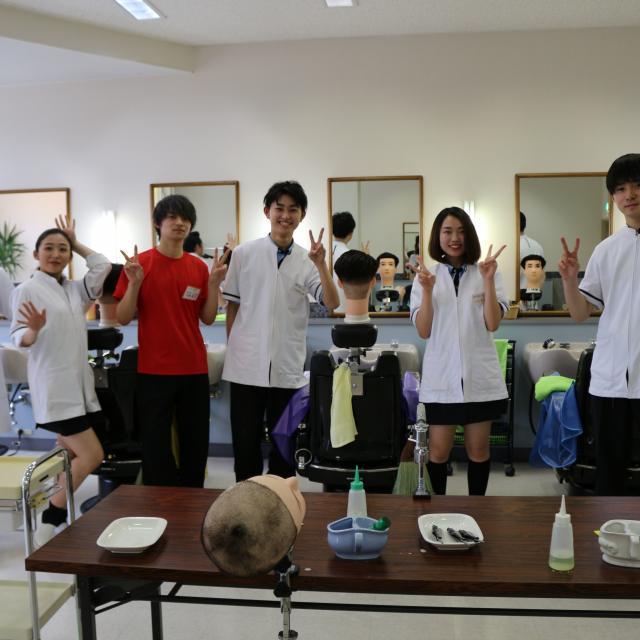 八戸理容美容専門学校 OPEN SCHOOL4