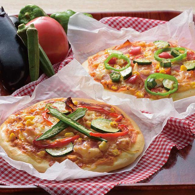 織田栄養専門学校 夏野菜のピザ作り1
