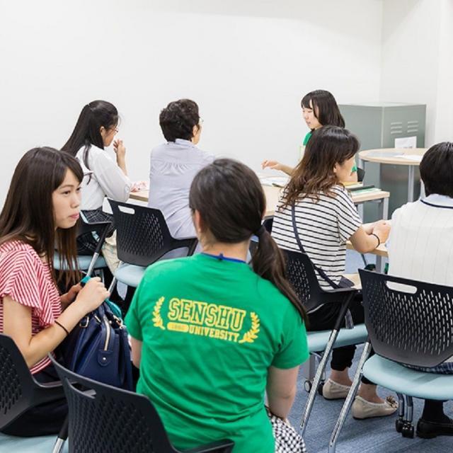専修大学 学生スタッフが主催するキャンパスツアー(神田キャンパス)2
