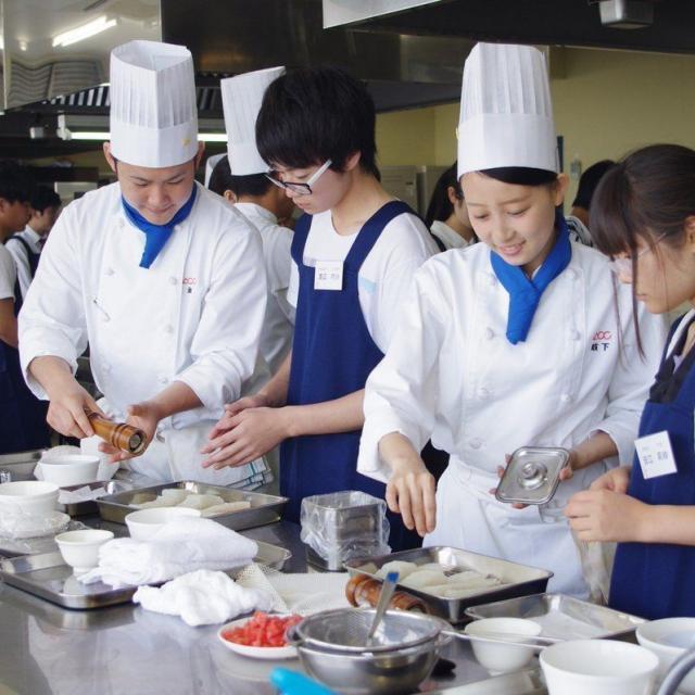 愛知調理専門学校 絶品ローストビーフ丼を作ろう♪♪2