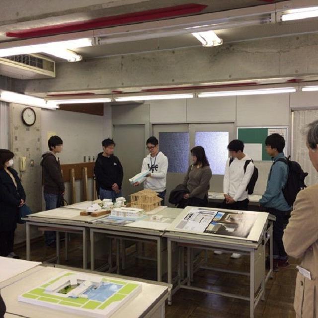 京都建築専門学校 オープンキャンパス+在校生による設計作品の紹介等2