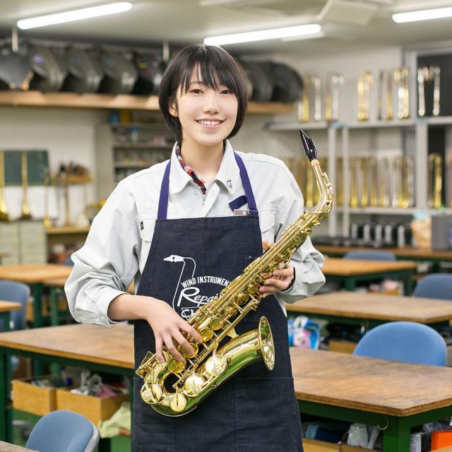 中部楽器技術専門学校 高1~3・再進学・社会人【管楽器リペア科】1