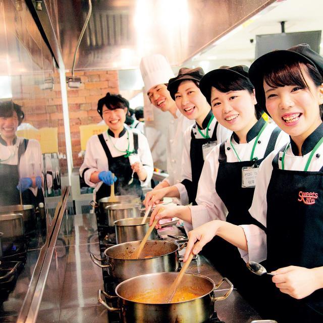 大宮スイーツ&カフェ専門学校 つくって食べて楽しめる!オープンキャンパス3
