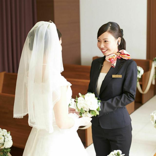 名古屋外語・ホテル・ブライダル専門学校 オリジナル結婚式を体験★~ブライダルプランナーコース~1