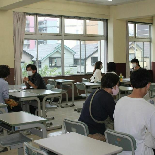浅野工学専門学校 【横浜で学ぶ浅野の建築とは】見て聞いて話せる『進路相談会』4