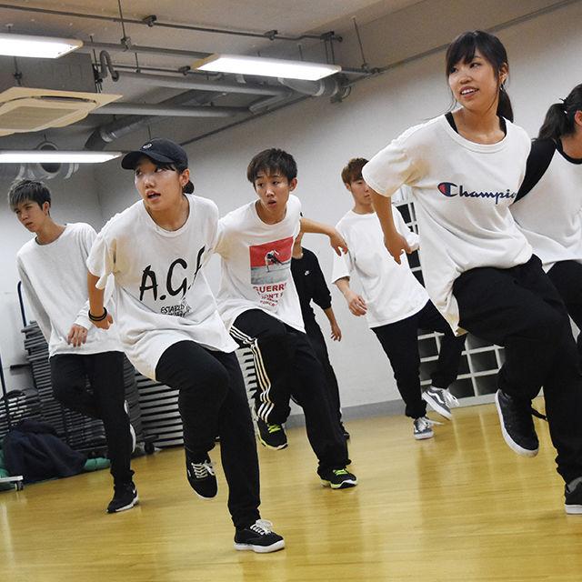 専門学校東京アナウンス学院 ダンスパフォーマンスの科体験入学「ダンスレッスン体験」1