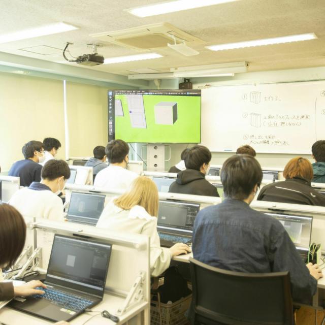 国際理工情報デザイン専門学校 【学校見学会】対象:情報ネットワーク科4