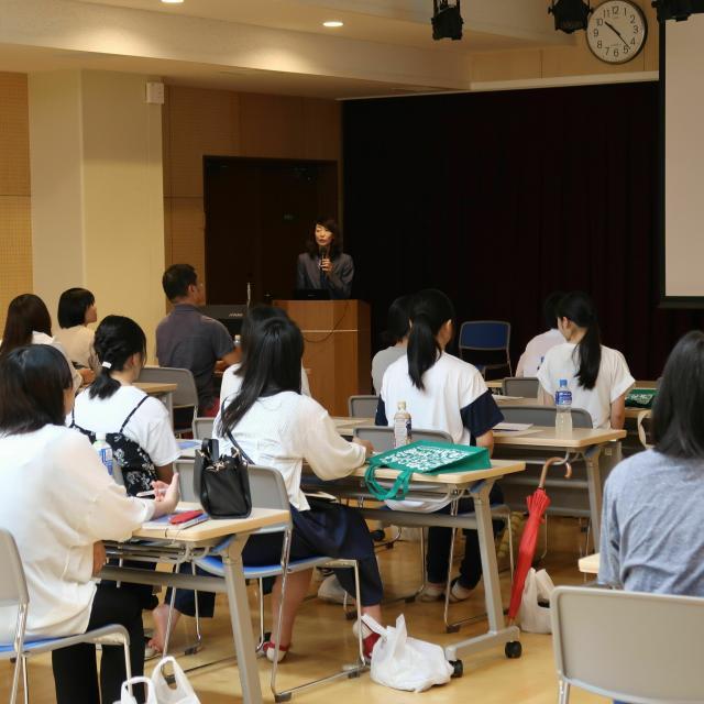 奈良保育学院 ならほオープンキャンパス(体験授業)1