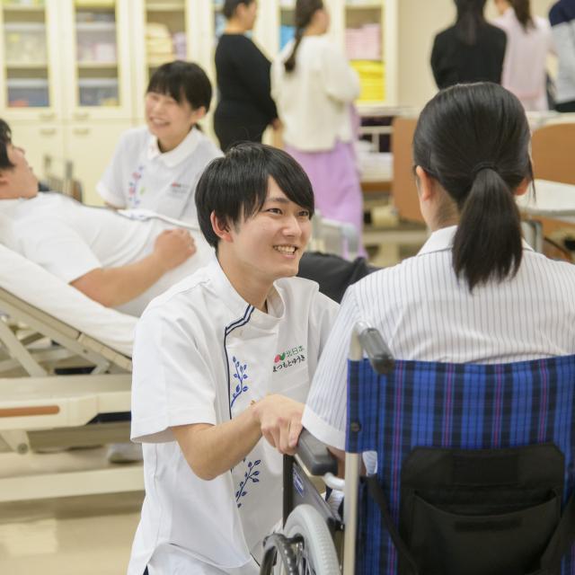 北日本医療福祉専門学校 キタウェル 春のオープンキャンパス1