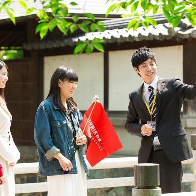 キャリエールホテル旅行専門学校 京都の観光地を散策しよう★旅行・観光フェスタ1