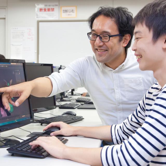 アニメーション映像科体験入学「アニメ制作体験」